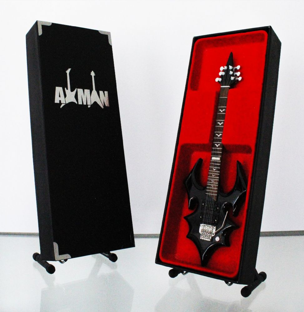 (Misfits) Doyle Wolfgang von Frankenstein: Miniature Guitar Replica (UK Seller)